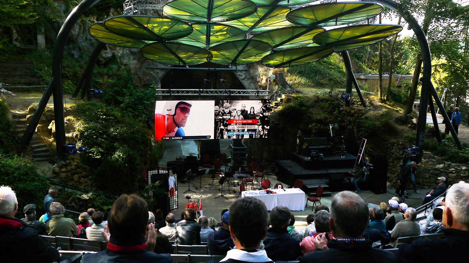 led scherm huren - olympische spelen openluchttheater valkenburg