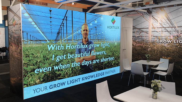 groot led scherm in stand fruit logistica berlin messe