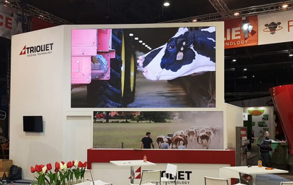 led wall eurotier hannover messe