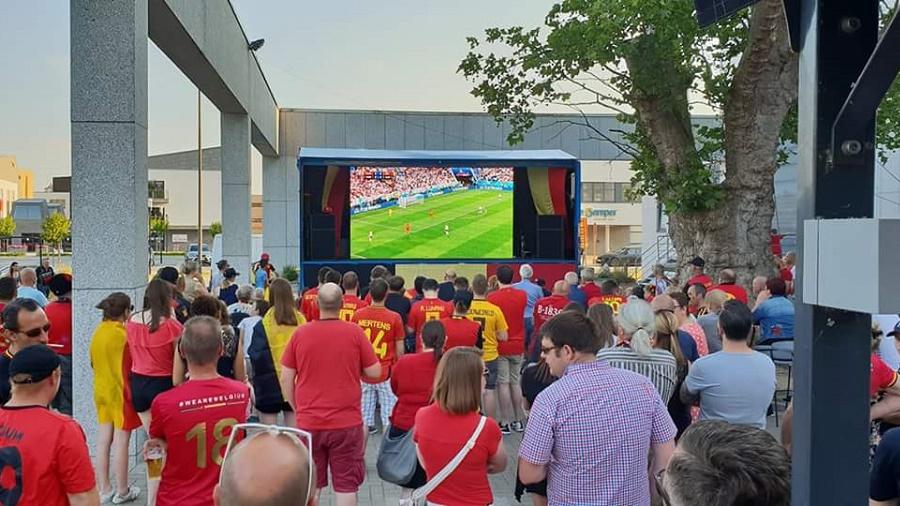 Groot LED Scherm Huren - EK Voetbal 2020