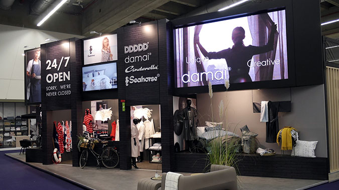 rent a led display for projects in frankfurt, germany
