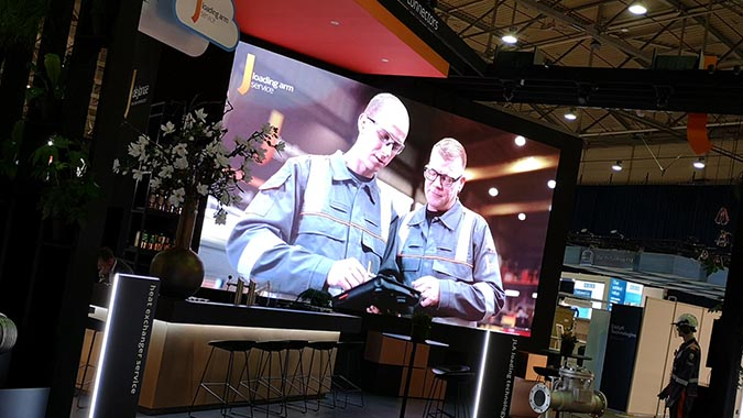 LED Wall Hire for exhibitions in The Netherlands - Stocexpo Ahoy Rotterdam
