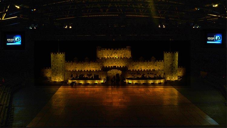led schermen tijdens shows in de ethias arena hasselt limburg