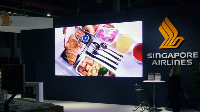 big screen for hire during exhibitions in holland