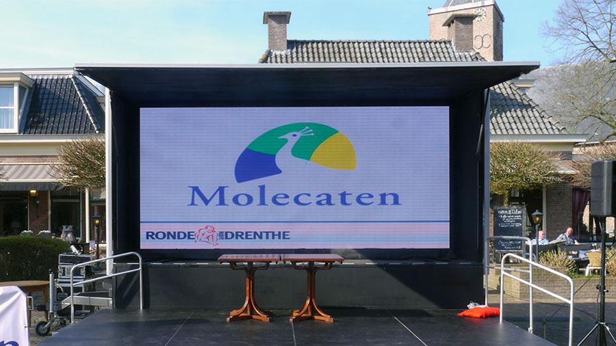 wij leverden een groot scherm bij sportevenementen in assen coevorden emmen dwingeloo en roden