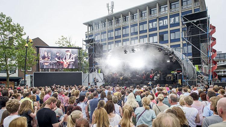 Mobiel LED Scherm in Hengelo, Overijssel